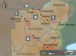 ZBa16 & ZB16 Tour Map