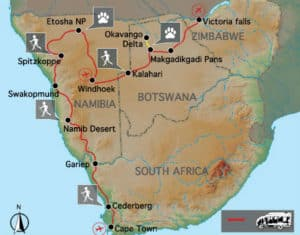 Cape to Victoria Falls Explorer