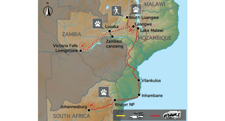 LM22-sunway-safari-indafrica-planning-zambezi-malawi-trade-route-map