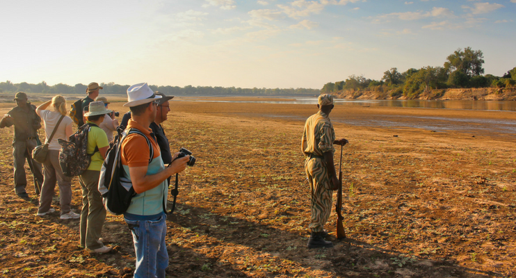 indafrica-sunway-safaris-expeition-northern-zambia-exploring-wildlife-game-walk