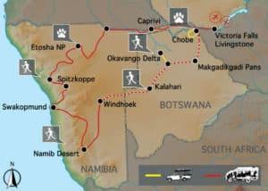 Namibia & Botswana Desert & Delta Africa Safari
