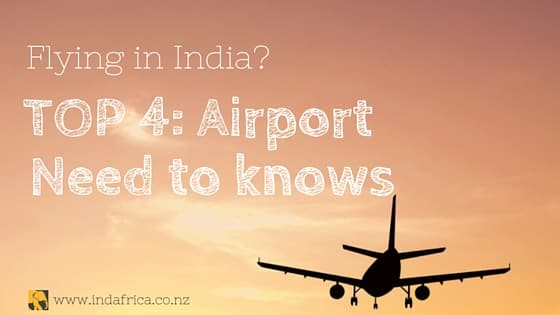 Blog Title - Flying in India