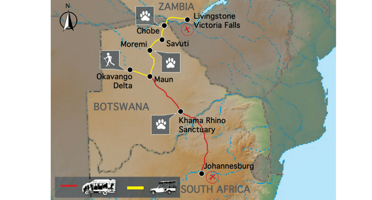 BT13-BT14-sunway-safari-africa-botswana-indafrica-zimbabwe-camping-south-africa-map-route