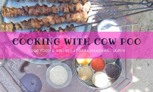 Cooking with Cow Poo in Jaipur
