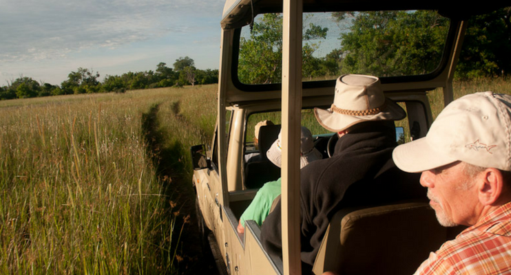 BTa14-Sunway-safari-Botswana-Moremi-Land-Cruiser-wildlife-spotting-elephants-africa