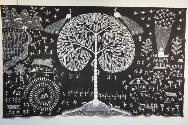 warli art by rashmika mehta